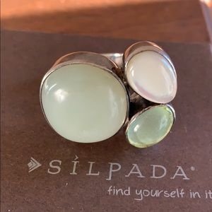R2164 retired Silpada ring